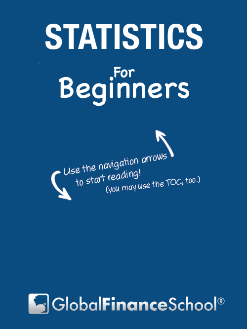 Use the navigation arrows to start reading Statistics for beginners!