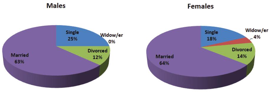 Joint Presentation of Gender and Marital Status-1